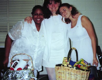 Tiffany(big), Maria (big big), Jen (lil') Spring 2000 Initiation