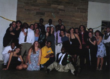 All the sisters and their dates at Spring Semi Formal 2000
