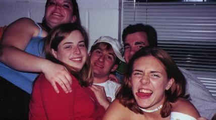 Chantel, Jen S., and Jen C Spring 2000